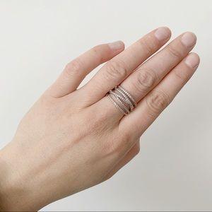 Stella&Dot - Pavé Stacked Ring